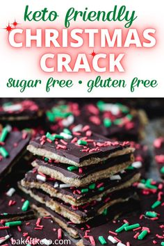 The ultimate sugar free keto Christmas candy!