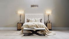 Realise your stylish bedroom ideas with designer bedroom furniture including modern beds & designer bedside tables. Luxury Bedroom Furniture, Luxury Bedding, Bedside Table Design, Modern Cushions, Cushions Online, Stylish Bedroom, Luxury Home Decor, Luxurious Bedrooms, Bed Design