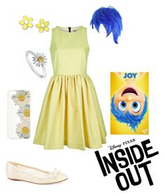 """Disney Pixar Inside Out - Joy"" by briony-jae ❤ liked on Polyvore"
