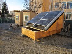 Our solar panel prototype!