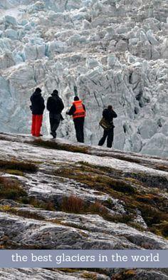 Pia Glacier in southern Patagonia, Chile