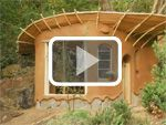 """""""These are some of the beautiful tiny cob homes in Coquille, OR, USA, built at Cob Cottage by the many people who go there to learn how to build using natural materials. These little homes cost very little to build. Ianto and Linda, the founders of Cob Cottage, talk about their work in this video where you will find out just how cheap these natural homes can be."""""""