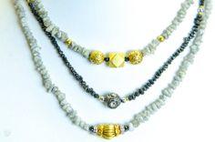 Black Diamond Necklace $625.00 http://www.etsy.com/listing/172935410/black-diamond-necklace?ref=listing-shop-header-4