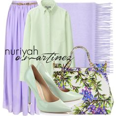 Hijab Outfit #550 by hashtaghijab on Polyvore featuring Uniqlo, Dolce&Gabbana and hijab
