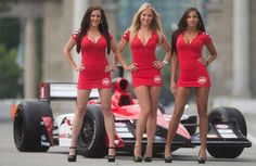 MONACOThe testosterone-fuelled world of Formula One rang the changes, and surprised more than a few drivers, at the showcase Monaco Grand Prix on Sunday by replacing the familiar 'grid girls' with male models. Sexy Cars, Hot Cars, Classy Women, Sexy Women, Sexy Autos, Car Show Girls, Pit Girls, Promo Girls, Beautiful Women Pictures