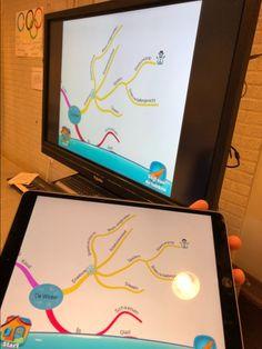 De app iMindmap kids is gemaakt door Mindmap Guru Tony Buzan. Hij is de specialist op het gebied van mindmappen. Met de app iMindmap kids kun je eenvoudig hele mooie mindmaps maken. Ik moest dit natuurlijk zelf ook uitproberen en heb dit gedaan met het thema winter.