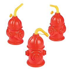 Fire Hydrant Cups