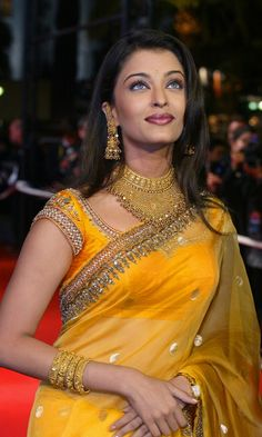 Indian actress Aishwarya Rai arrives at