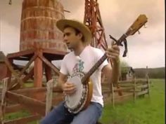 For The Widows In Paradise, For The Fatherless In Ypsilanti - Sufjan Stevens, on a farm, with his banjo.