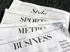 Business of News: As Newsrooms Restructure, So Should Coverage Areas – Editor & Publisher Magazine- Newspaper & News Publishing Industry News Newspaper Photo, Newspaper Cover, Twitter S, Twitter Cover, Household Budget, Typography Design Layout, Business Journal
