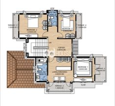 W-134 House Plans, Floor Plans, Tiny Houses, Modernism, House Floor Plans, Home Floor Plans, Home Plans