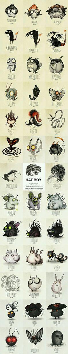 Tim Burton Pokemon (Vaughn Pinpin)