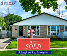 Save Max Real Estate - Today's is our client's Happy Faces from 5 Bingham Rd after we their tastefully upgraded home in Brampton. Congratulations to both the sellers and the buyers! Happy Faces, Monday Motivation, Congratulations, Shed, Real Estate, Outdoor Structures, Outdoor Decor, Home, Lean To Shed