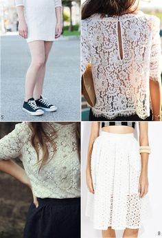 Inspire: Every Day White Lace - Pattern Runway