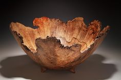 Natural Edge Wood Bowls By Woodworking Artist Steve Noggle Wood Router, Wood Lathe, Cnc Router, Wood Turning Projects, Wood Projects, Lathe Projects, Vases, Wood Bowls, Wood Turned Bowls