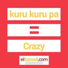 Day 76 of 365. Kuru Kuru Pa = Crazy (as in kuku) . Japanese Gesture* #japanese #japaneseculture #japaneselanguage #japaneselife #japaneselesson #japaneselifestyle #japaneseteacher #japaneseliving #japaneselearning #japaneselessons #japanesetutor #japanesetravel #eiKawaii #culture #lesson #learning #learningjapanese #learnjapanese #speak #learn #teaching #passion #awesome #fun #eichan #wordoftheday #365daychallenge