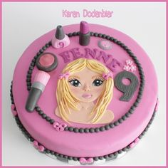 This is my 200th cake! I made it for a girl of 9 who wants to be a Top Model!