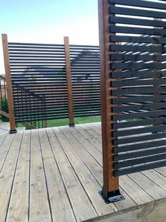 Privacy Screen Outdoor, Backyard Privacy, Backyard Patio, Backyard Landscaping, Deck Privacy Screens, Privacy Wall On Deck, Hot Tub Privacy, Diy Privacy Fence, Backyard Projects