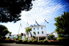 L'Horizon Beach Hotel is a seaside wedding venue in Jersey Top Hotels, Beach Hotels, Hotel Wedding Venues, Wedding Venue Inspiration, Seaside Wedding, Stay The Night, Hotel Spa, Perfect Place