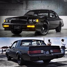 All Black '83 Buick Grand National
