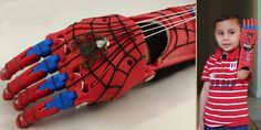 8th Grade Class 3D Prints an Amazing Prosthetic 'Spider-Man' Hand for 5-Year-Old Dante