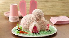Det är lättare än du tror att göra kaninformad tårta till påsk.