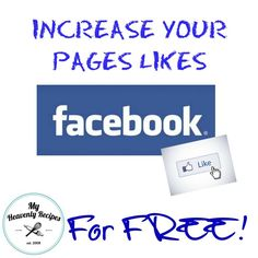 Increase Facebook Likes Make money blogging #money #blog