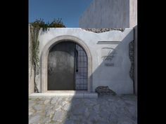 """""""White Cave Suite"""", Karterados SantoriniKarterados, Santorini2019 - 2020PrivateWork in progress204 m2When we first visited this property, located in the traditional village of Karterados, on Santorini island, all we found was two abandoned underground caves and two derelict buildings, no larger than 16 m2 each. Each cave had a unique façade, as they had been constructed during different time periods. The main design idea focused on highlighting every unique feature of the already existing Derelict Buildings, Hotel Architecture, Santorini Island, One Bedroom Apartment, Facade Design, Atrium, Luxury Villa, Design Awards, Swimming Pools"""