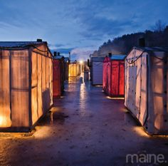1000 images about shanty ideas on pinterest ice fishing for Ice fishing at night