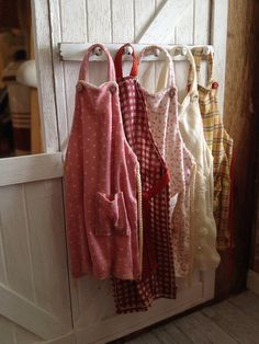 (apron~ology) by It's a miniature life...is playing with clay, via Flickr