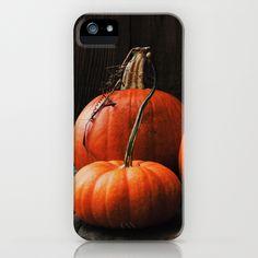 Three Pumpkins iPhone & iPod Case