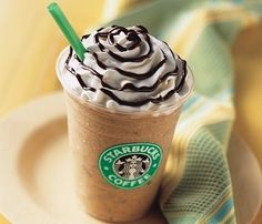 Receita de Frappuccino | Café gelado com chocolate | KeepCalmDIY
