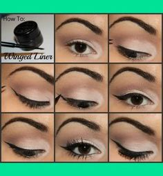 DIY Winged Eyeliner [12 pics] / Fashion Inspiration Blog