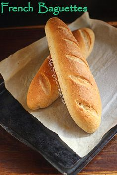 French Baguettes - how simple is to shape these.