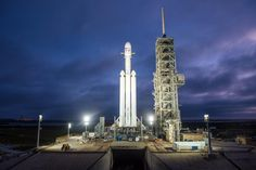 SpaceX is on the verge of launching its biggest and most powerful rocket to date. The Falcon Heavy is essentially three Falcon 9 rockets put together. Check out the full story on our website!  #spacex #space #viral #trending #launch #tesla #mars #alien #new #post #omg #mustsee #shocking #elon #musk
