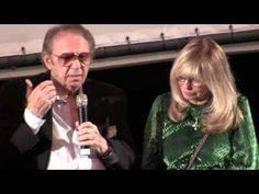 Hal Blaine, Jeff Barry, Don Randi, Nancy Sinatra, Lou Adler, and Denny Tedesco at the Tribute To Hal Blaine screening in Beverly Hills CA, February 2013
