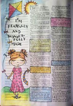 Marginal scripture art