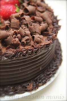 masam manis: DEATH BY CHOCOLATE CAKE