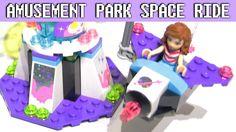 Space Ride - LEGO Friends Amusement Park 41128 set with Olivia mini-doll Lego Duplo Sets, Frozen Sisters, Doll Videos, Disney Princess Frozen, Hologram Stickers, Lego Friends, Amusement Park, Dolls, Space