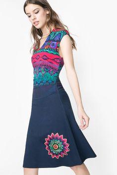Ethnic print dress | Desigual.com 5000