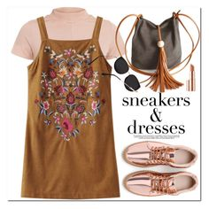 """""""Sneakers and Dresses"""" by oshint ❤ liked on Polyvore featuring Estée Lauder, cool, fabulous, wonderful, zaful and SNEAKERSANDDRESSES"""
