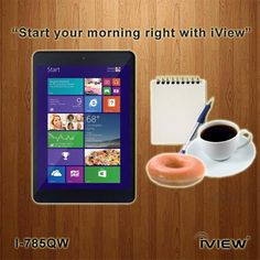 The IView I 785QW Tablet With WIndows 8.1 And Intel Inside BayTrail