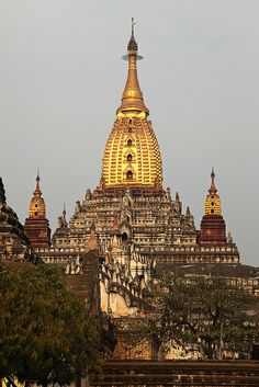Bagan, Myanmar - Ananda Temple Buddha Temple, Buddha Buddhism, Temple Architecture, Ancient Greek Architecture, Vietnam Travel, Asia Travel, Laos, Burma Myanmar, Temples