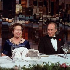 Pierre Trudeau hosted a dinner in the Queen's honour during the monarch's visit to Vancouver in Photo: © Peter Bregg/CP Images Hm The Queen, Royal Queen, Her Majesty The Queen, Save The Queen, Diana Spencer, Young Queen Elizabeth, English Royal Family, Queen Margrethe Ii, Prince Phillip