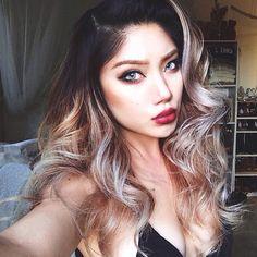 Eyes, Lips and Hair