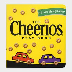 Cheerios Play Book  MOMA my cousin had this he was born in 1998 it's now Jenna's