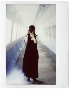 Picture by Thomas Yeung; Model - Kathy Wong Instax Wide Film, Instax Film, Fujifilm Instax Wide, Shallow Depth Of Field, Lomography, Model, Fotografia, Scale Model