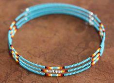 Navajo Beaded Choker Necklace