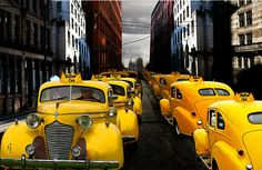 TAXI BY GRAHAM FAIRHURST~ RETRO CABS