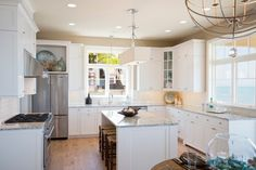 House of Turquoise: Visbeen Architects | white kitchen